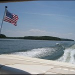 4th of July Boating Out On The Lake!