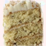 An Italian Cream Cake for Blogoversary!