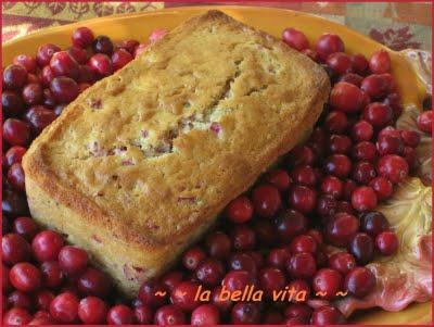 thanksgiving cranberry bread