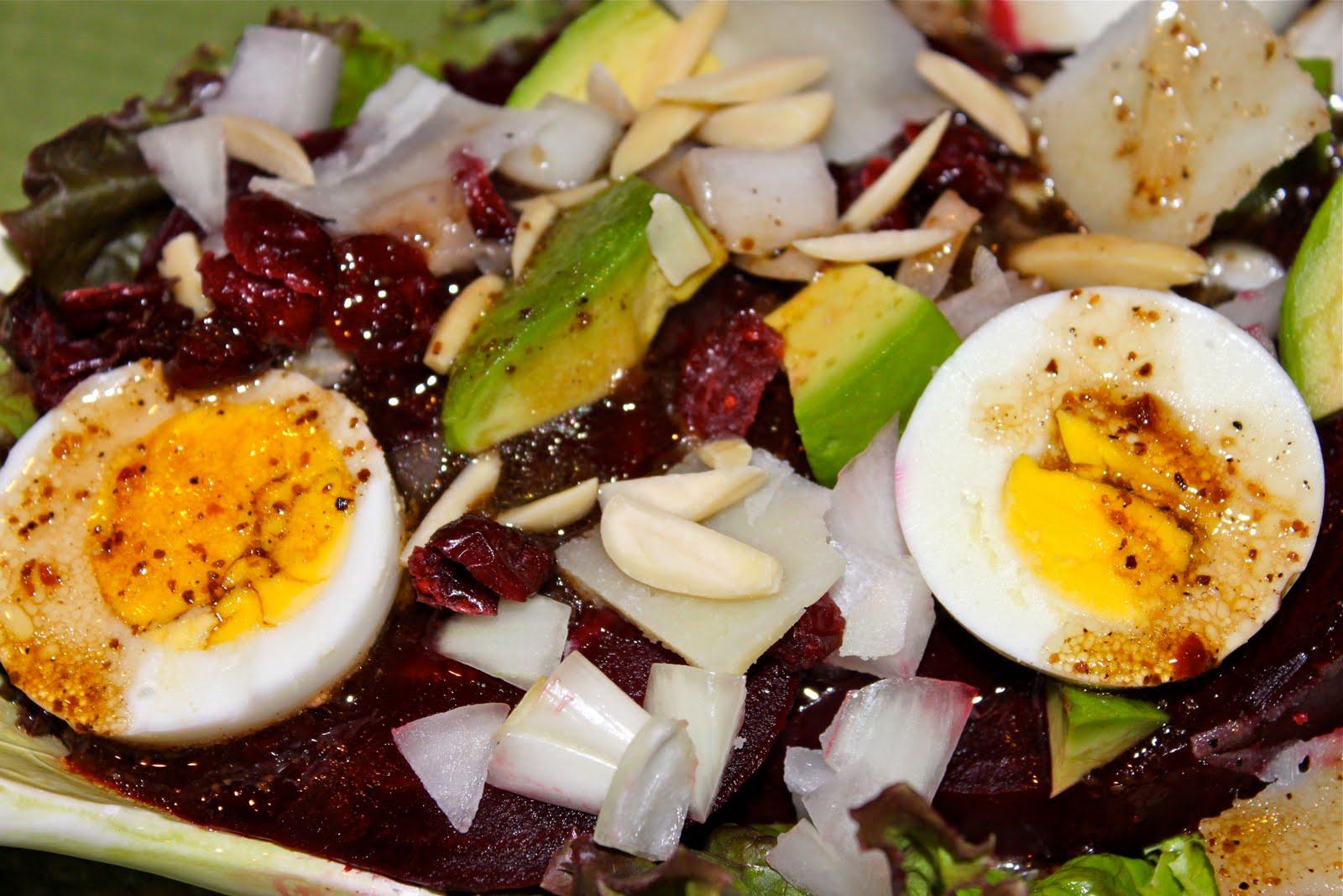 Beet Salad with Avocados and Manchego Cheese - La Bella ...