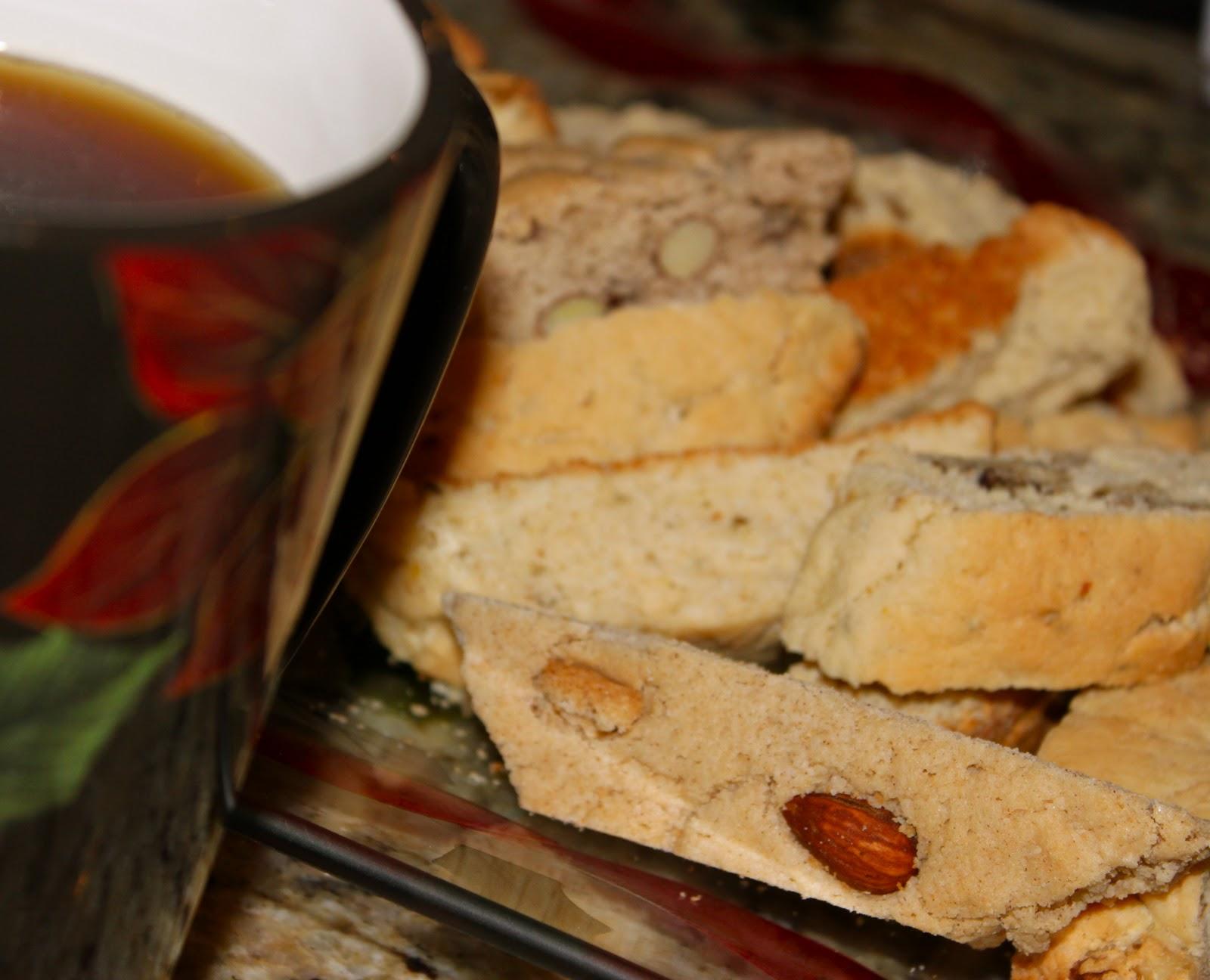 Traditional Italian Almond Cantucci Biscotti A Classic Tuscan