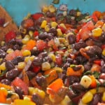 Carolina Caviar / Black Bean Salsa: Al Fresco Evening in Tennessee Mountains