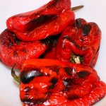 Roasting Red Peppers (and Green, Yellow or Orange)