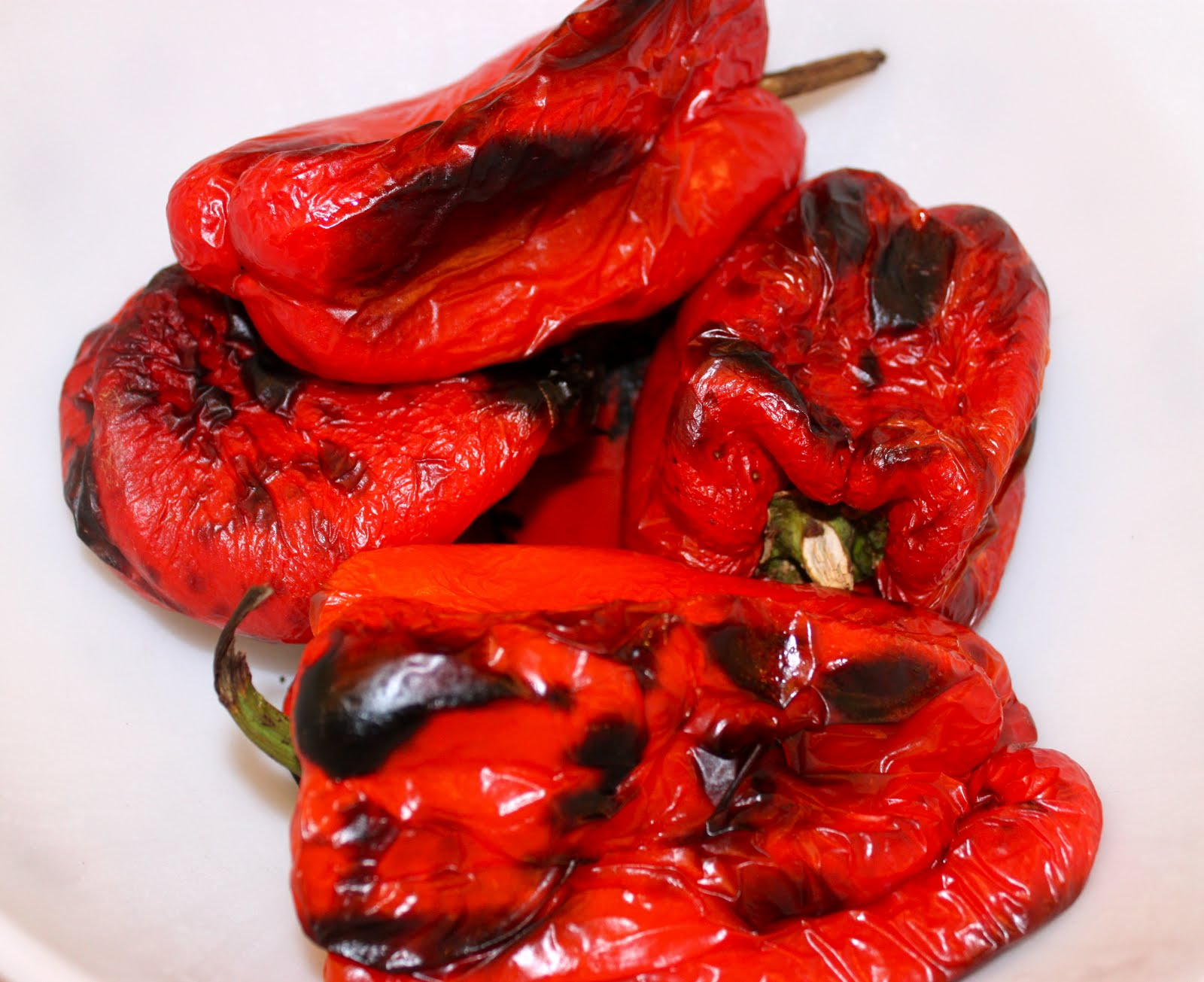 Roasting Red Peppers (and Green, Yellow or Orange) - La ...