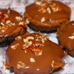 Nutella and Pumpkin Mini Cheesecake Bites