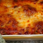 Baked Spaghetti Pie ~~ Perfect Way to Use Cooked Spaghetti!