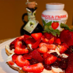 Strawberry and Mascarpone Cheese Crostini