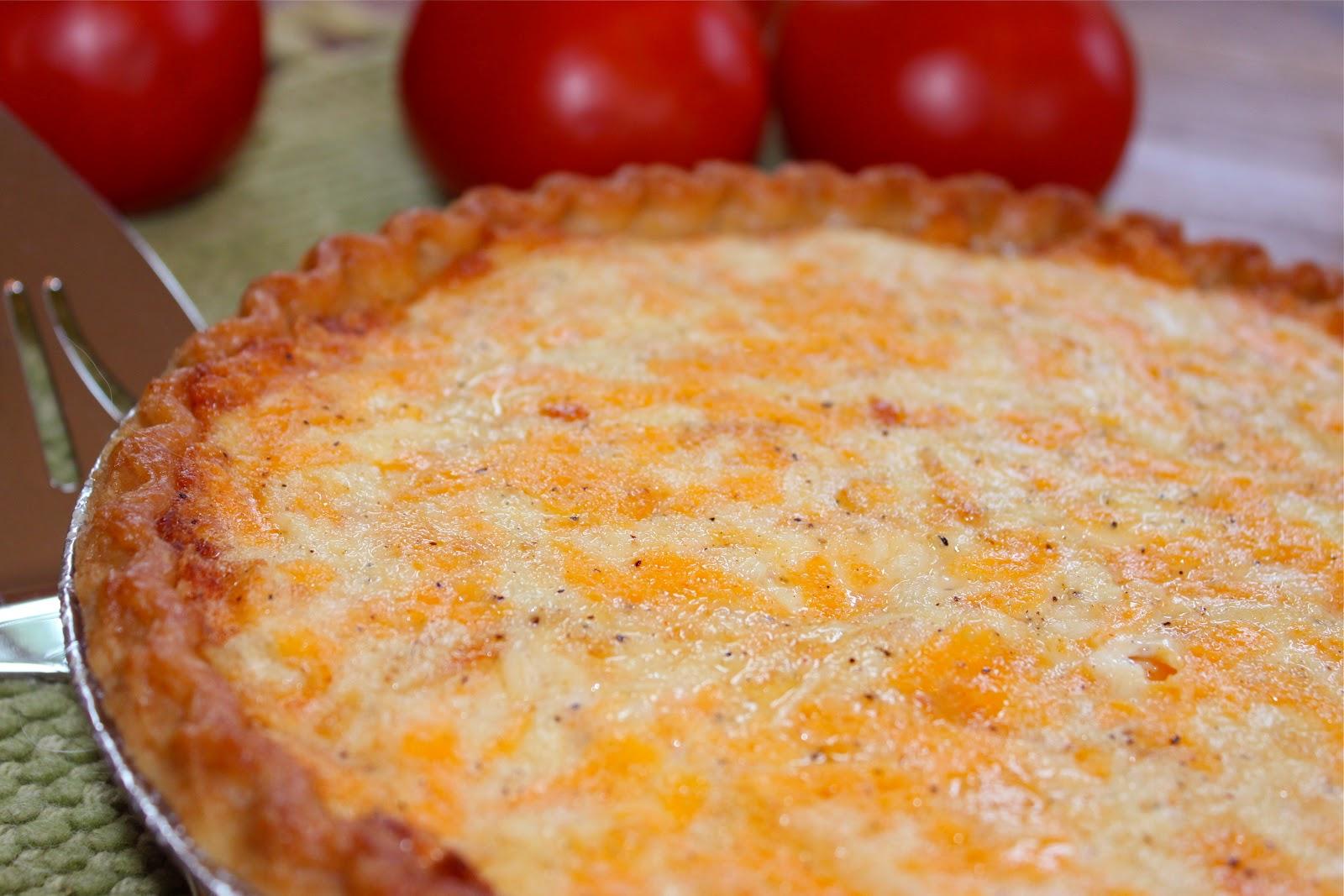 Rustic Italian Tomato Pie - La Bella Vita Cucina