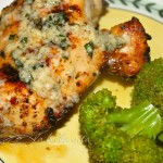 Grilled Basil Buttered Chicken and California Culinary Memories