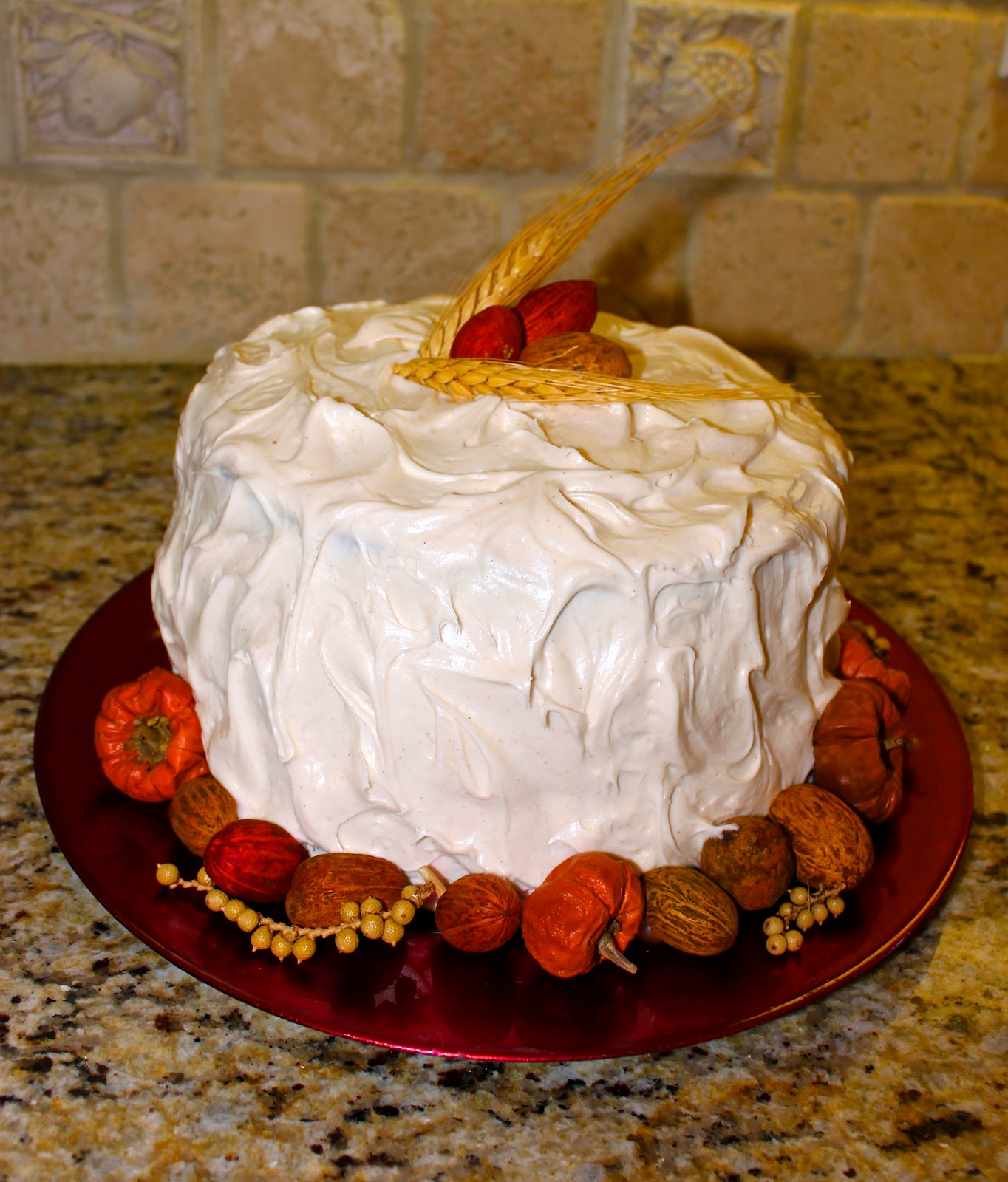 Carrot Cake with Praline Filling and Cream Cheese Frosting - La Bella ...