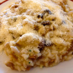 "Risotto with Porcini Mushrooms from ""Harry's Bar"" in Venice, Italy!"
