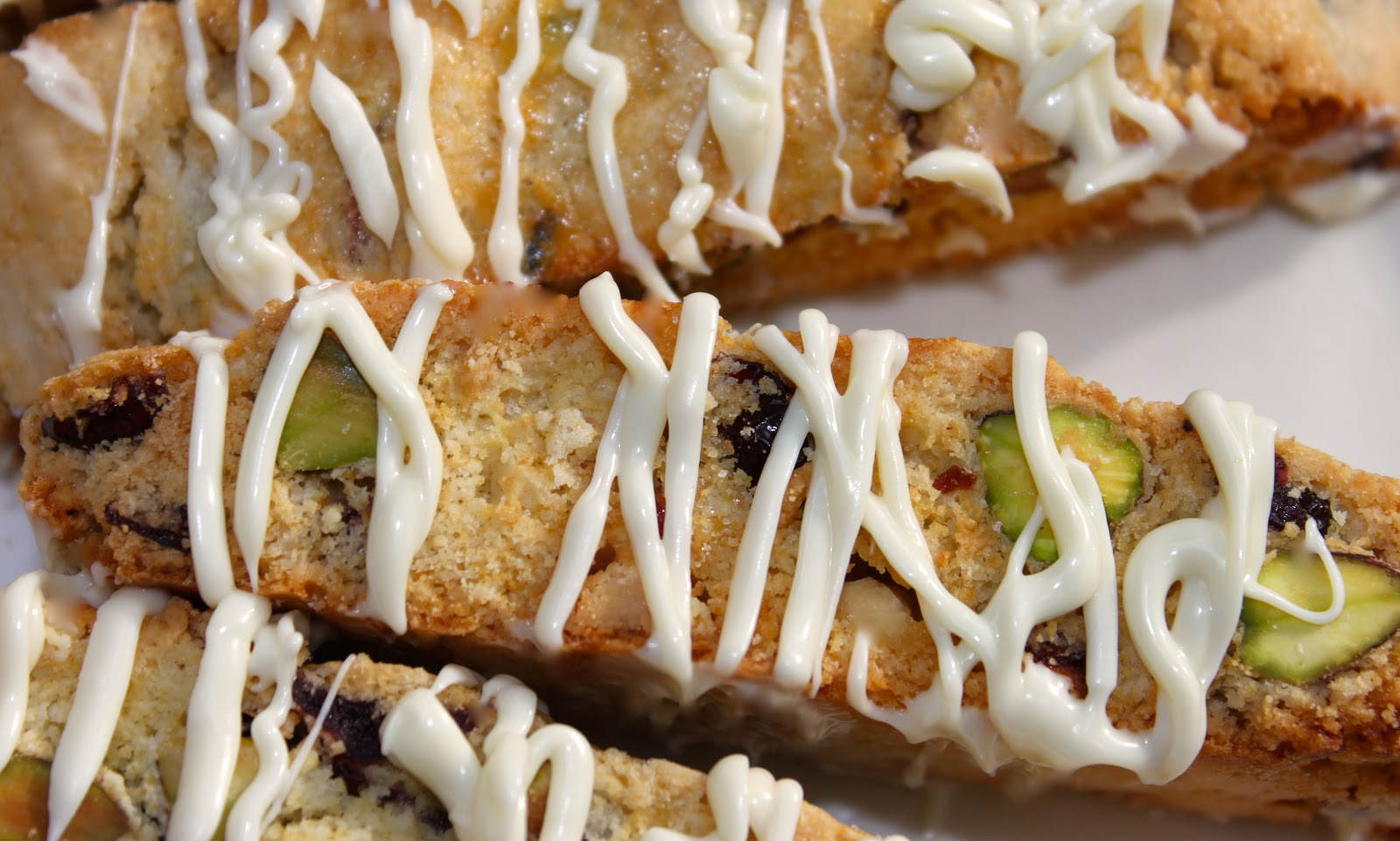 Pistachio, Raspberry, And White Chocolate Biscotti Recipe ...