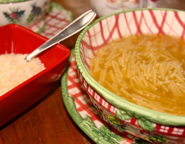 Pastina Chicken Soup And Italian Childhood Memories