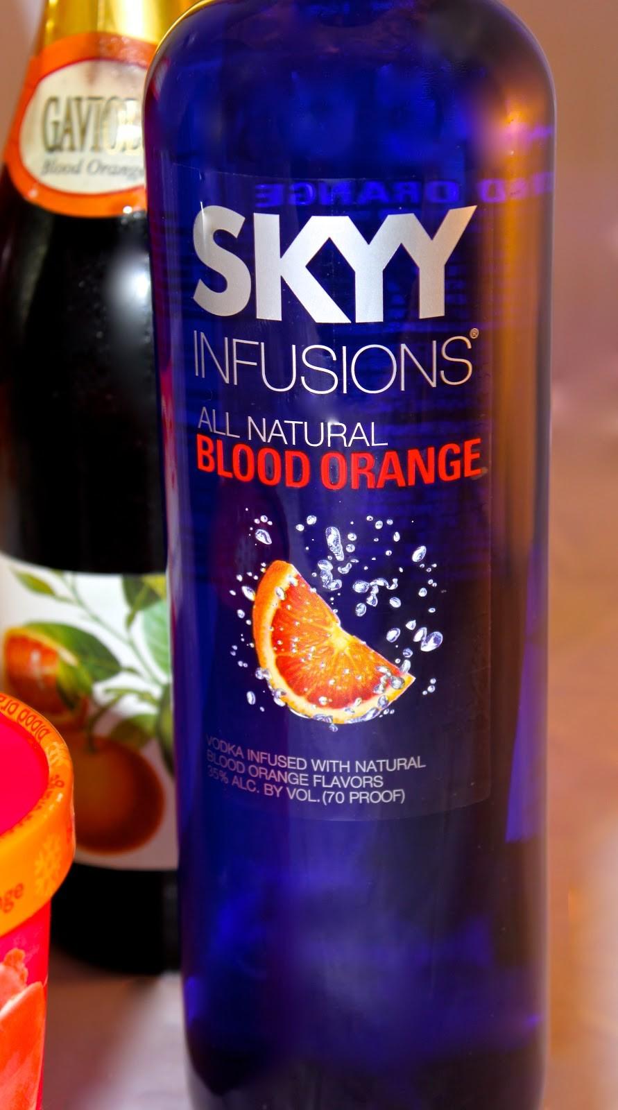 Blood orange sgroppino cocktails la bella vita cucina for Vodka prosecco