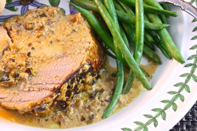 Pork Loin Braised In Milk Recipe — Dishmaps