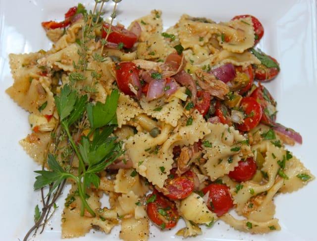 Italian Tuna Pasta Salad - La Bella Vita Cucina