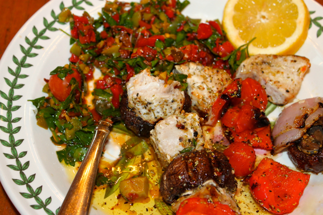 Sweet-and-Sour Grilled Swordfish Kabobs Recipes — Dishmaps