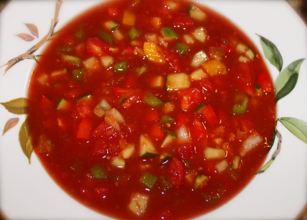 Gazpacho and Fresh Marinara Sauce