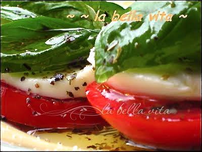 caprese salad  insalata caprese
