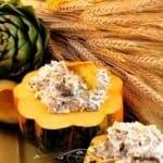 Cheesy Asiago Artichoke & Spinach Dip