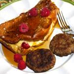 Raspberry and Lemon Curd Mascarpone Stuffed French Toast