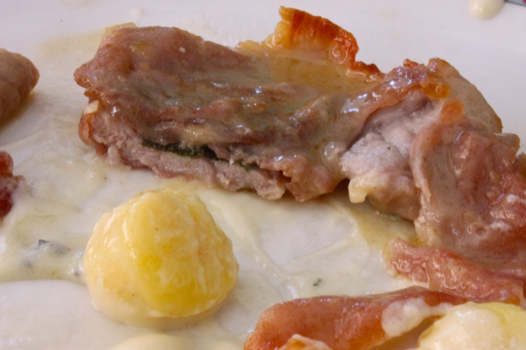 veal saltimbocca rome italy