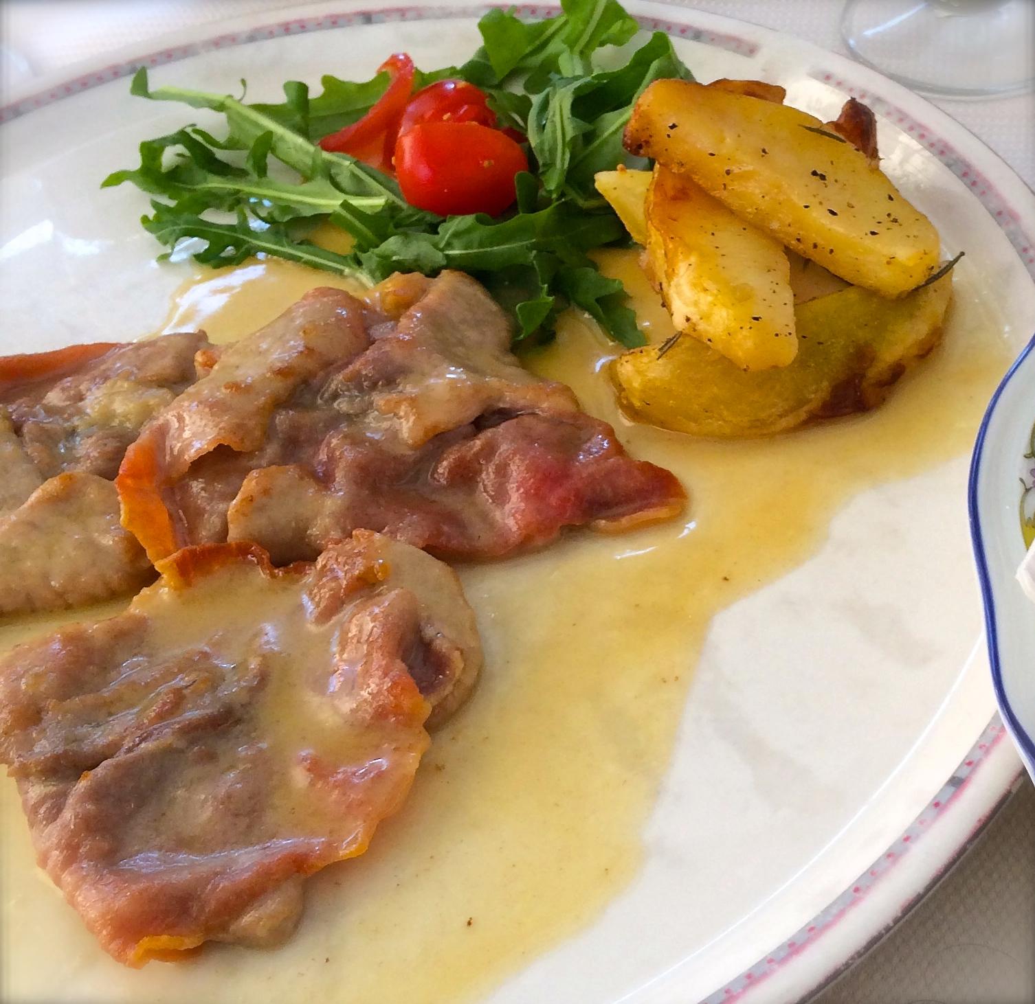 Veal Saltimbocca alla Romana — A Roman Classic