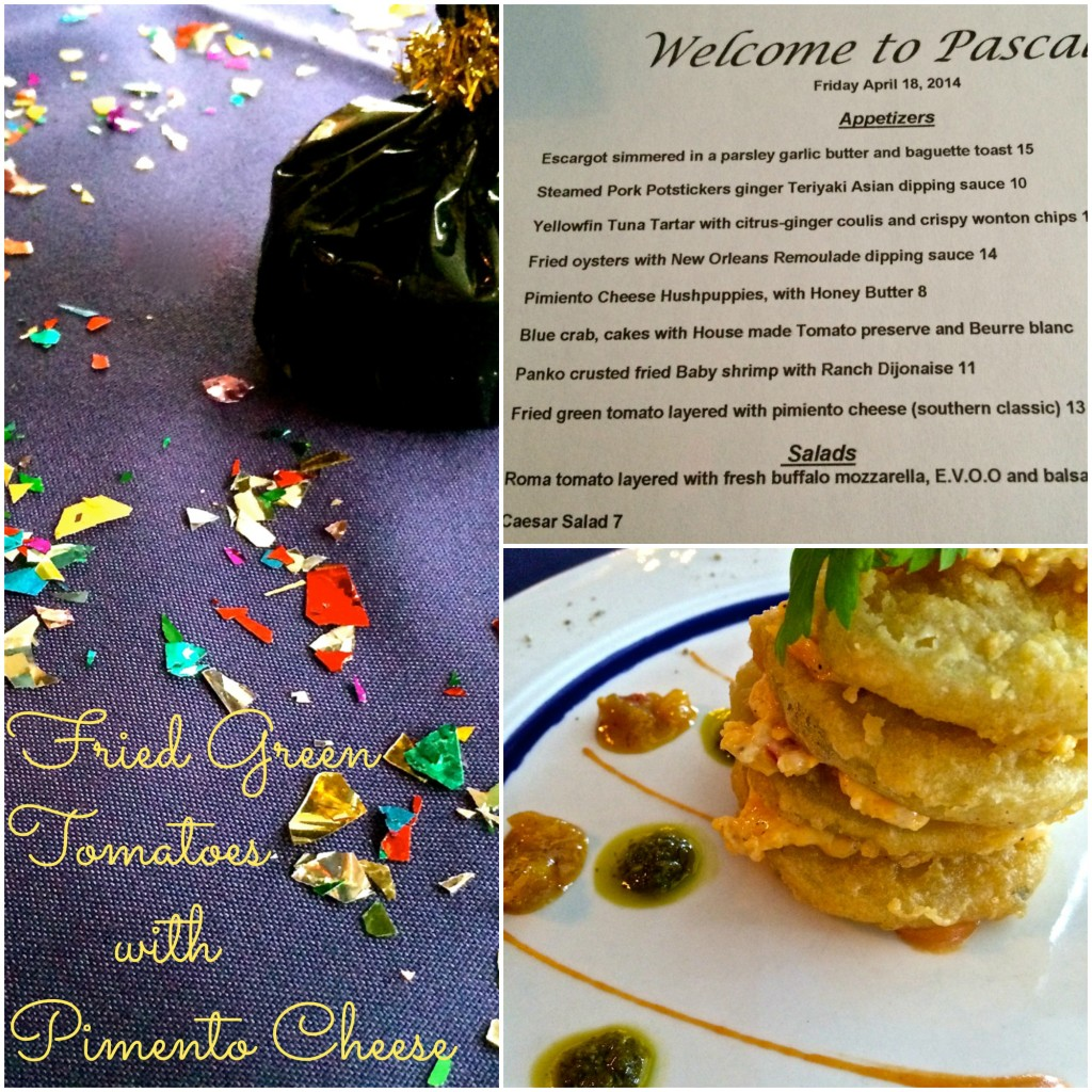 Fried Green Tomatoes with Pimento Cheese