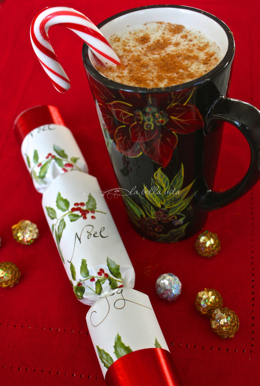 ... break out the egg nog for some JOLLY GOOD old-fashioned holiday cheer