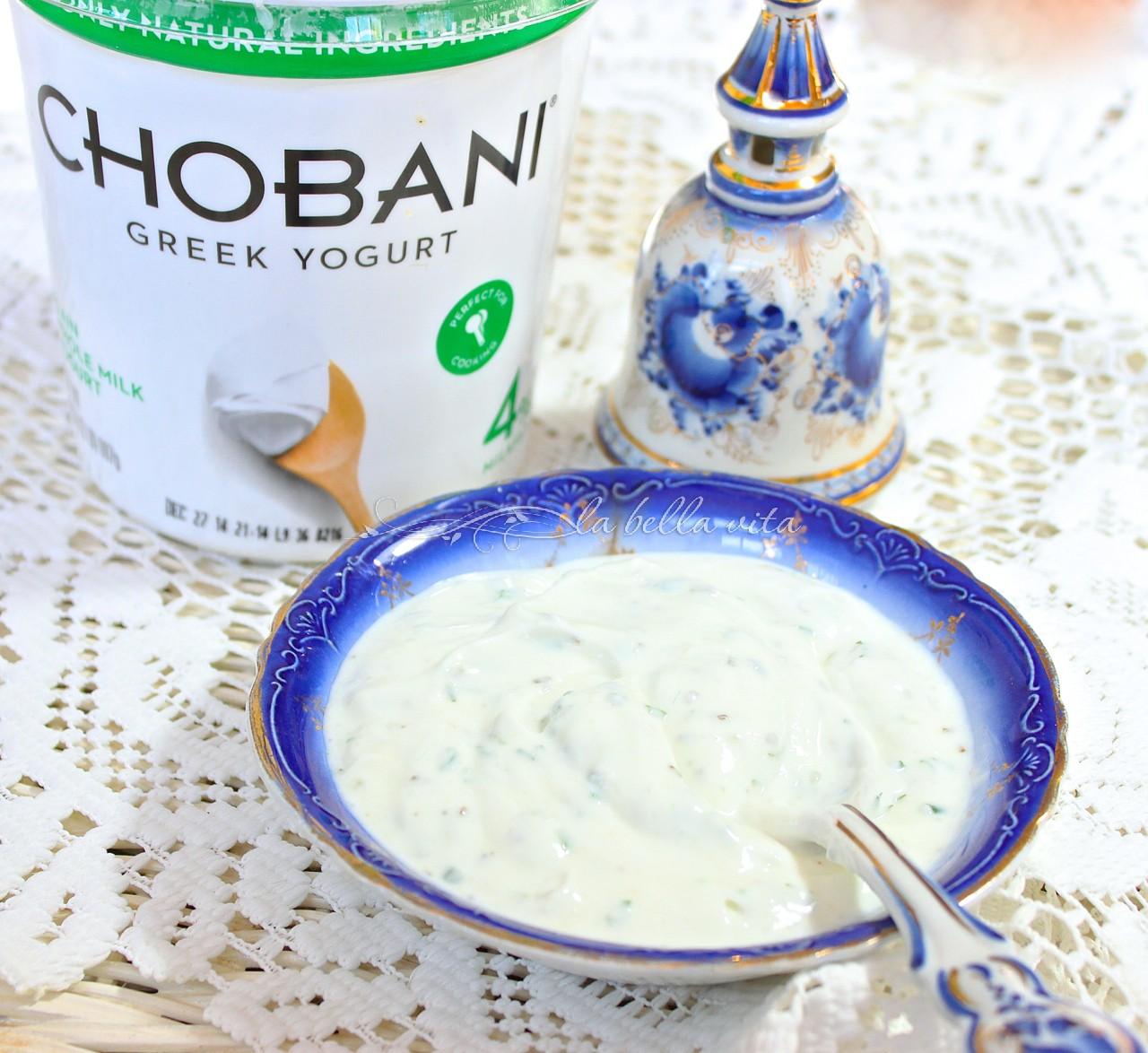 Best Potato Latkes with Italian Herb Yogurt Sauce