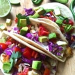 Baja Fish Tacos with Chipotle, Cilantro and Lime Crema