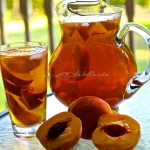 Healthy Peach Green Ice Tea