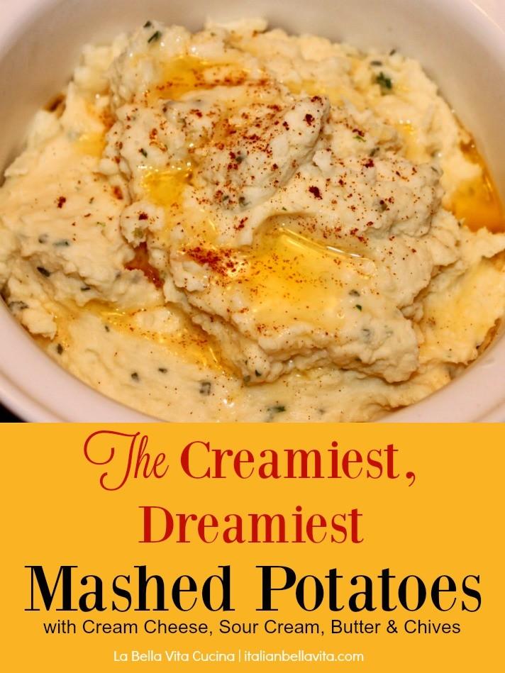 The Creamiest, Dreamiest Mashed Potatoes