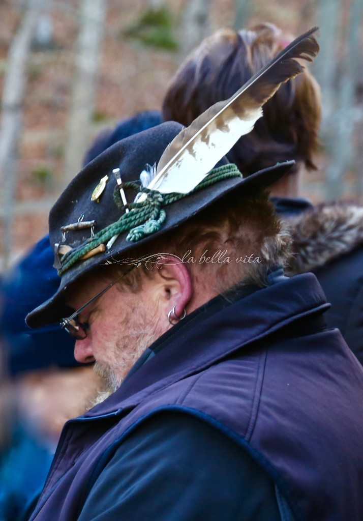 I loved the hat of this jolly German carriage driver