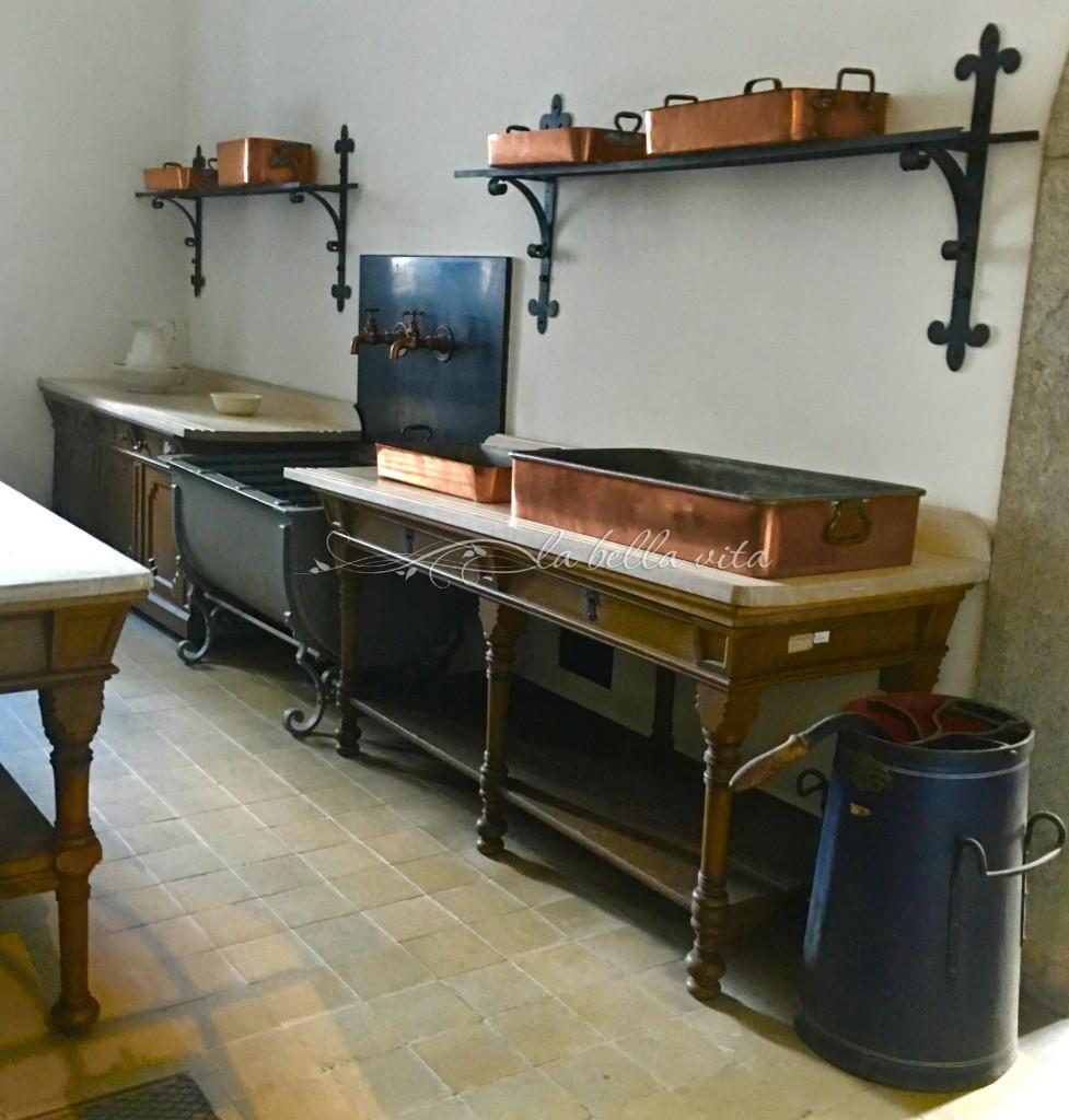 The castle's kitchen sink!