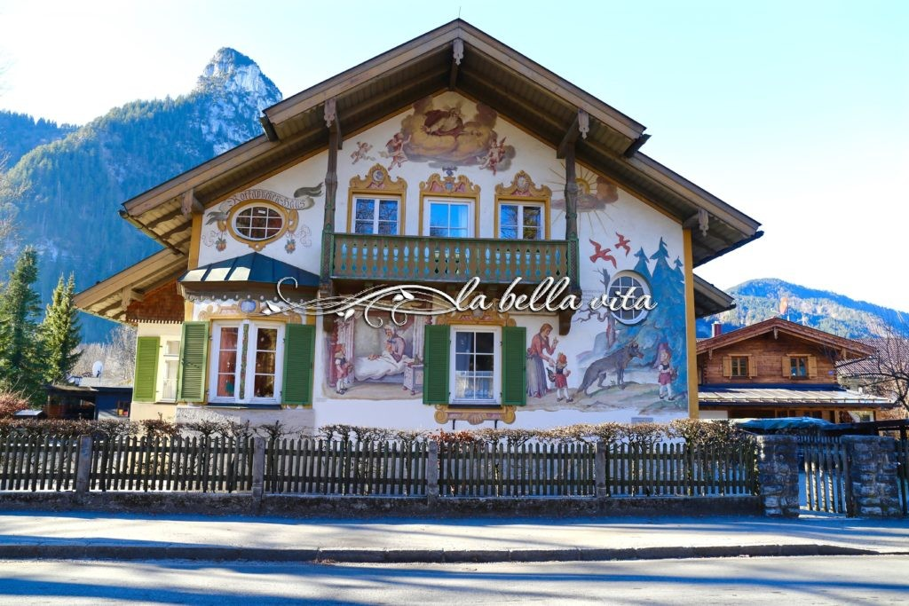 Painted Houses Of Oberammergau