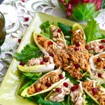 Belgian Endive Bites with Salmon and Tuna Salad