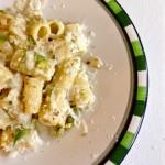 Rigatoni with Pesto and Parmigiano Reggiano Guest Post Chiara from La Voglia Matta