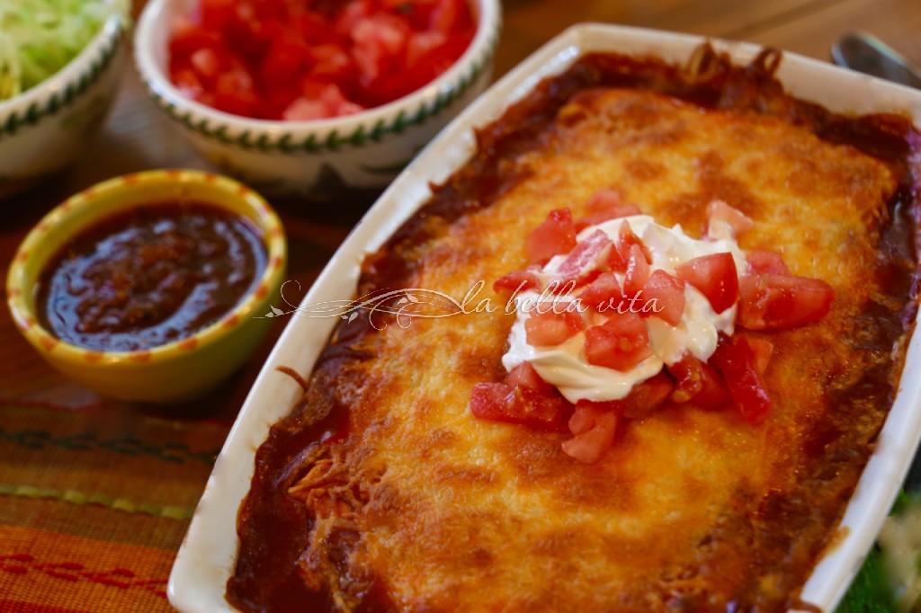 Easy Semi-Homemade Enchiladas
