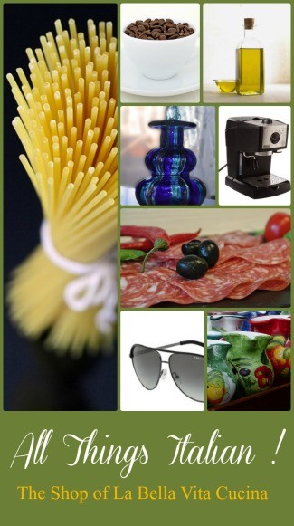 Shop For All of Your Italian Products Here!