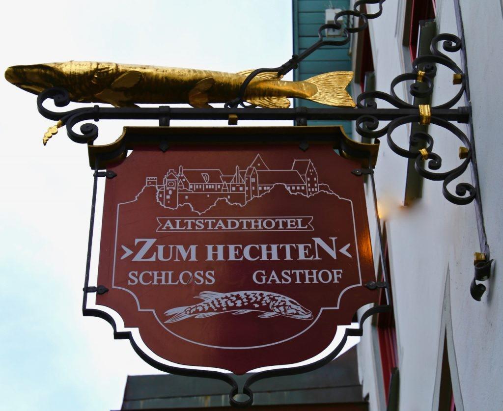 German Octoberfestjaeger schnitzel with spaetzle