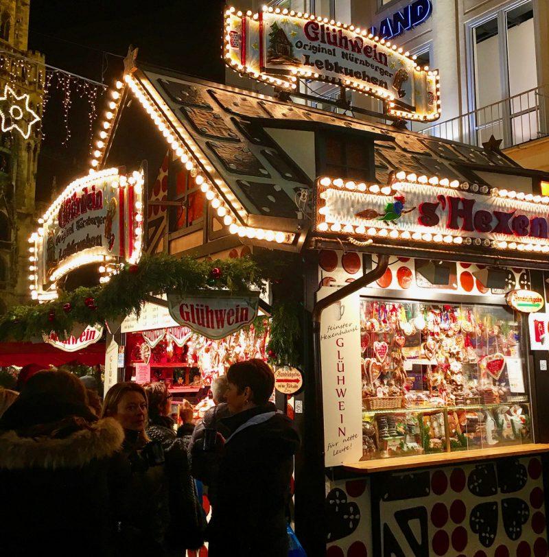 Glühwein -- German Mulled Wine a traditional Christmas beverage