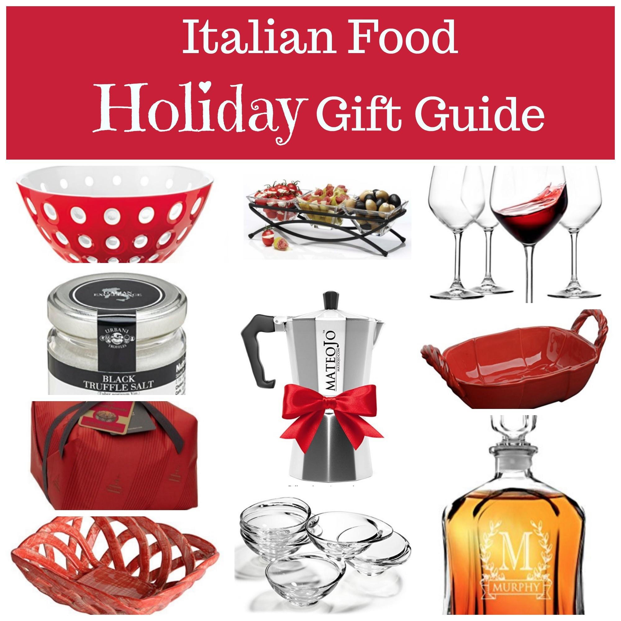 Italian Food Lover's Holiday Gift Guide on La Bella Vita ...
