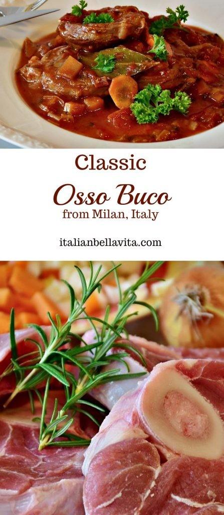 Classic Osso Buco Milan Italy