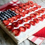 Still The Best Red, White and Blue Flag Cake from Ina Garten