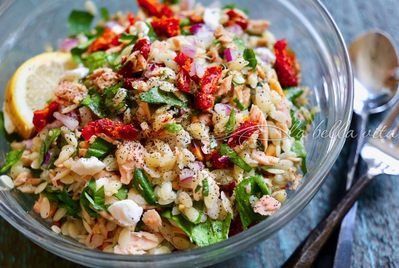 Italian Tuna and Orzo Salad