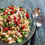 Italian Tuna and Orzo Salad