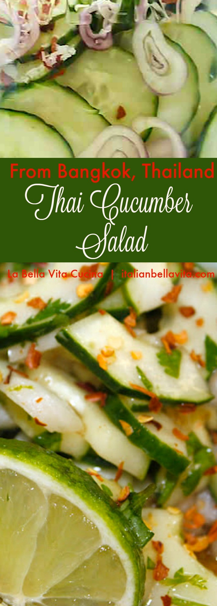 Best Thai Cucumber Salad