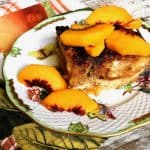 Mascarpone Stuffed Peach French Toast