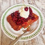 Italian Cherry Panettone French Toast